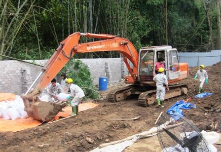 Dịch vụ chôn lấp chất thải